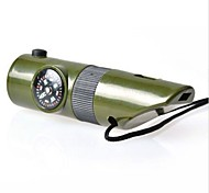 Survival Whistle Multi Function / Survival / Emergency Hiking ABS Green