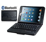 Faux Leather Flip Case with Built-in Bluetooth Keyboard for iPad Mini 3/2/1(Assorted Colors)