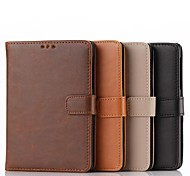 For BlackBerry Case Card Holder / with Stand / Flip Case Full Body Case Solid Color Hard PU Leather for BlackBerry