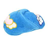 Lovely Cotton Slipper Shaped Plush Toys For Pet Dogs(Random Colour)
