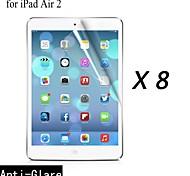 [8-pack] Protector de pantalla anti-reflejo prima de alta calidad para el ipad 2 del aire