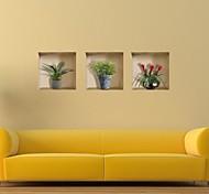 Декоративные 3D стикеры для стены