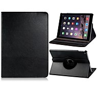 Lichee Pattern 360° Rotating Faux Leather Flip Case with Mount Stand for iPad Air 2