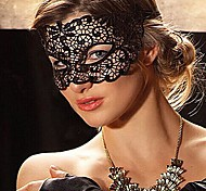 Party Queen Black Lace Masquerade Mask