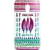 Red Leaves Pattern TPU Soft Cover for Motorola Moto G2