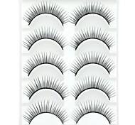 Wimpern Augenwimpern Augenwimpern Dick / Natürlich lang Voluminisierung / Dick Faser