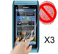 Matte Screen Protector for Nokia N8 (3 PCS)