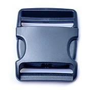 Luggage Strap Belt Clip Plastic Side Release Buckles 50mm  Black  (1piece pack)