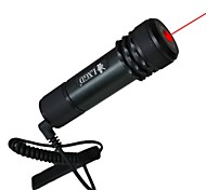 lt-4c rode laser pointer (5 MW, 650nm, 1x16340, zwart)