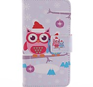 The Owl PU Full Body Case with Card Slot for Motorola MOTO X