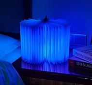 conduit usb Flip Book sommeil léger charge livre créative pliage chevet cadeau veilleuse