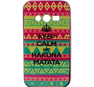 mantener el patrón de nuevo la cubierta del caso para Samsung Galaxy Ace 4 g313h