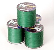 300M / 330 Yards PE Braided Line / Dyneema / Superline Fishing Line Green 22LB 0.2 mm ForSea Fishing / Fly Fishing / Bait Casting / Ice