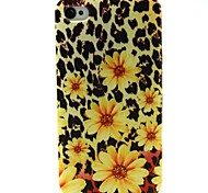 Leopard Huang Juhua Pattern TPU Soft Case for iPhone 4/4S