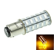 1142 20W 36X5730SMD 800-1200LM Yellow Light Led Bulb for Car Turn Lamp(1PCS/AC12-16V)