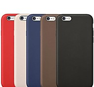 New 1:1 Original PU Leather Case for iPhone 6