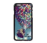 Personalized Phone Case - Balloon Design Metal Case for iPhone 6