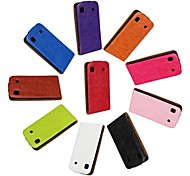 Flip-Open Horse Grain PU Leather Full Body Case for Samsung Galaxy S i9000 (Assorted Colors)