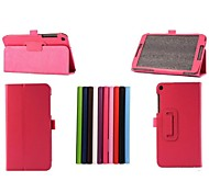 8 Inch Two Folding Pattern Lichee  PU Leather for ASUS Fonepad 8(FE380CG)(Assorted Colors)