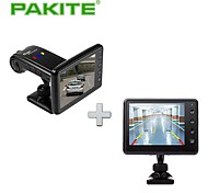 PAKiTE Smart Wireless Car Black Box with Reverse Camera System, 3.5 inch Mode PAT-860HD