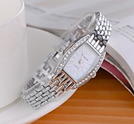 Women's Fashionable Style Alloy Analog Quartz Bracelet Watch(Assorted Colors)