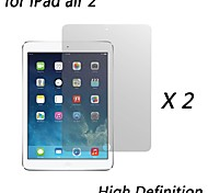 [2-Pack] Premium High Definition Clear Screen Protectors for iPad air 2