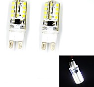 Bombillas LED de Mazorca G9 3W 32 SMD 2835 240 LM Blanco Cálido / Blanco Fresco V