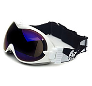 HB White Frame Double Lens Compressive Snow Googgles