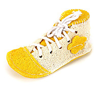Perros Juguetes Juguete Mordedor Zapatos Esponja Amarillo