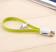 kucipa USB 3.0 dados de velocidade de super cabo de carregamento para samsung 20 centímetros de telefone celular (cores sortidas)