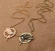 doppelseitige Stereo Hunger Games Halskette The Hunger Games logo Spottdrossel Halskette (1 PC)