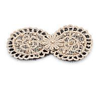 1pc Korean Diamante Bowknot Lace Posted Magic Belt(Random Color)