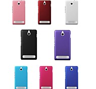 Pajiatu Hard Mobile Phone Back Cover Case Shell for Sony Xperia E1 (Assorted Colors)