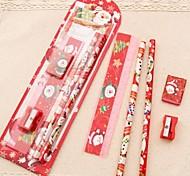4pcs Anzug Weihnachten Weihnachtsmann&Weihnachtsbaum Sachen (Weihnachtsmann: 1 #&Weihnachtsbaum: 2 #)