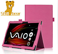 Shy Bear™ Business Style Stand Smart  PU Leather Cover Case for Sony Xperia Z2 10.1 Inch Tablet PC