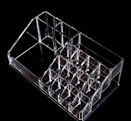 Transparent Crystal Combination Slot Cosmetic Storage Box