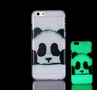 Panda Pattern Glow in the Dark Hard Case for iPhone 6 Plus