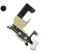 Headphone Audio Charger Charging Data USB Port Flex Cable for iPhone 5(Assorted Color)