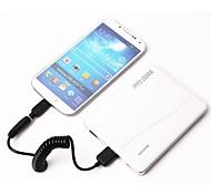aumentare caso 6600mah dual usb batteria esterna pacco ® con adattatore del caricatore del connettore 5 per il iphone 4/5/6 / telefono 6plus (5V 1A)