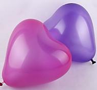 12 pulgadas 2g globo en forma de corazón - 100 piezas (más colores)