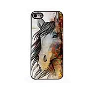 das Pferd Design Aluminium-Hülle für das iPhone 4 / 4s