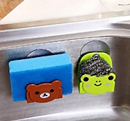 Multifunction Kitchen Cartoon Pattern Storage Rack for Duster Cloth