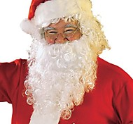 Adult Santa Beard + Wig + Hat Cospaly Outfit