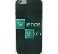 Science Pattern Hard Case for iPhone 6