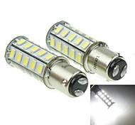 1157 20W 36X5730SMD 800-1200LM 6000-6500K White Light Led Bulb for Car Brake Lamp(A pair/AC12-16V)