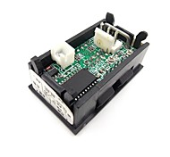 DC 0-100V/10A LED Dual Display Ammeter Voltmeter Volt Amp Meter for Cars Motorcycles Yacht Mechanical Equipment Etc
