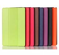 il caso di cuoio da 8 pollici tripla modello pieghevole PU per Sony Xperia Z3 tablet compatto