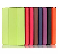 8-Zoll-Dreifachfaltschließe Muster PU Ledertasche für Sony Xperia Z3 Tablette kompakt