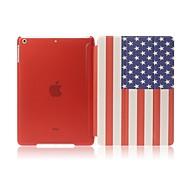 Enkay die USA-Flagge-Muster dreiKlappultradünne Schutz Smart Fall mit Ständer für iPad Mini 1/2/3