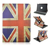 British Flag Design PU Leather Full Body Case with Stand for iPad Air 2